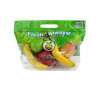 China Eco Reusable Clear Fresh Fruit Bags Stand Up Food Grade For Grape / Cherry wholesale