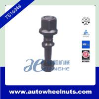 """China Chrome Steel Truck Wheel Studs , 165mm Length Bolt Small Nut 7 / 8 """" - 11BSF wholesale"""