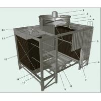 China ISO Industrial Water Chiller / Water Cooling Tower 3775mm×2710mm×4950mm wholesale