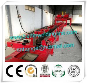 China H Beam Fit Up Assembling Machine , Automatic H Beam Production Line Welding Machine wholesale