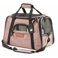 Quality Durable Airline Approved Pet Carrier Bag For Biking / Travel OEM/ODM Acceptable for sale