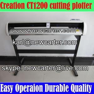 China Creation Cutting Plotter CT1200 Vinyl Cutter Plotter W Stand Pcut 1200 Vinyl Sign Cutter wholesale