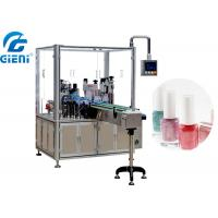 Quality Automatic Liquid Nail Polish Filling Equipment PLC And Touch Screen Control for sale