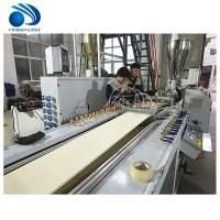 Buy cheap PVC Panel Making machine/ PVC ceiling profile extrusion machine from wholesalers