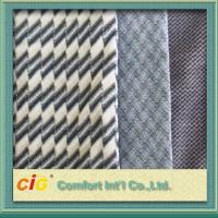 China Bus / Car Interior Decoration Striped Auto Upholstery Fabric / Contemporary Upholstery Fabric wholesale