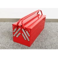 """Buy cheap 21"""" SPCC Cold Steel Three Layer Metal Cantilever Toolbox Powder coated from wholesalers"""