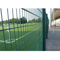 China PVC Coated 868 Double Wire Mesh Fence Bright Color With Easy Maintain wholesale