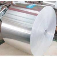 China Polyester film lamination 8011 O Aluminum foil for flexible air duct on sale