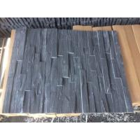 China Charcoal Slate Stone Panel 4 Layers Natural Stone Veneer Rough Surface Real Culture Stone wholesale