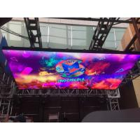 China Audio Visual Indoor LED Video Wall DJ Booth P3.9 LED indoor Display 1/16 Scan Driving wholesale