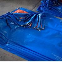 Buy cheap 100% Virgin Materials Blue UV PE Tarpaulin For Outdoor Cover from wholesalers