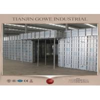 China GOWE metal formwork system / retaining wall formwork 300 times recycle wholesale