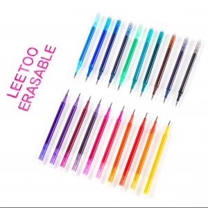 China Fine Point 0.7mm Frixion Pen Refills Red Black wholesale