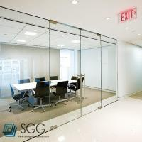 China clear/ultra clear/silkscreen/acid etched tempered glass partition 6mm 8mm 10mm 12mm wholesale