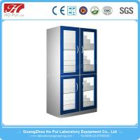 China 16mm MDF Board Pharmacy Medicine Cabinet for Science Laboratory wholesale