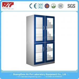 China Aluminum Wood Pharmacy Medicine Cabinet With Large Storage Space wholesale