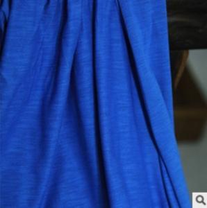 China SIGNATURE COTTON FABRIC 60s NONSUCH SLUB  SIGNATURE TOP GRADE FEMALE KNITTING FABRIC wholesale