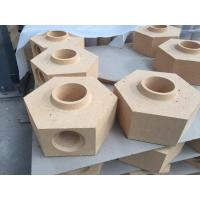 China Special Shape Bottom Pour Runner Bricks For Ingot Steel Casting Industry / Fireclay Refractories wholesale