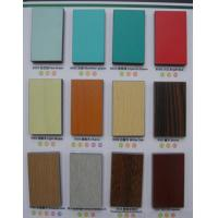 China White / Red Oak Melamine MDF Board Poplar For Furniture / Decoration wholesale
