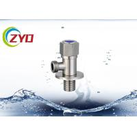 China Pressure Safety Stainless Steel Angle Valve , Brass Cartridge Stainless Valves wholesale