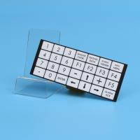 Quality Flexible Embossed Pcb Membrane Switch Fpc With 2.54mm Female Connector for sale