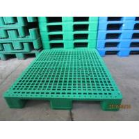 Reinforced Europe standard plastic pallets use in goods shelf Manufactures