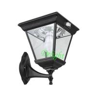 China Outdoor garden aluminum wall light sensor LED Solar Energy PIR Wall Light (DL-MSW17) wholesale