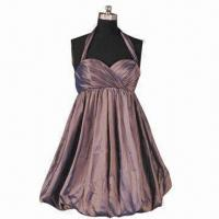 China Halter Sweetheart Knee Length Bridesmaid Dress, Customized Colors and Sizes are Accepted on sale