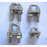 China Stainless Steel Wire Rope Clip Fastener Riggings wholesale