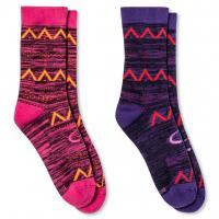 China Mid calf wholesale knitted crew women socks wholesale