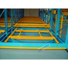 China Freezers Rail Free Mobile Storage Racks 32000Kg Per Module Without Concrete Floor Construction wholesale
