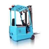 Buy cheap AC Motor Three Wheel Electric Forklift 1000kg Rated Loading Capacity New from wholesalers