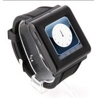 China SOS AD function thinnest music watch mobile phone Spy camera,FM radio AK912 wholesale
