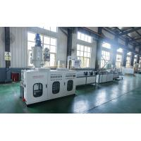 China PVC Single Wall Corrugated Pipe Machine Plastic Extrusion Lines With High - Speed Corrugated Pipe Machine on sale