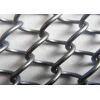 China Architectural Metal Coil Drapery ,Aluminum Alloy Cascade Mesh Various Colors wholesale