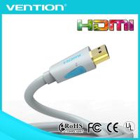 China Blue 1.4v male to male 24K gold plated hdmi extension cable suppport 3D with ethernet wholesale