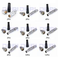 China 1B Push Pull Metal Wire Connectors FGG EGG 2 3 4 5 6 7 8 10 12 14 16 Pin wholesale