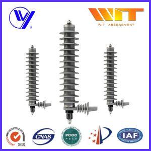 China Electrical Safety Gapless Transmission Line Surge Arrester For Buildings , Medium Voltage wholesale