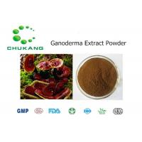 China Ganoderma Plant Extract Powder Polysaccharide Triterpenoids Herbal Ingredients wholesale