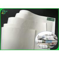 China Grade AA 869mm 889mm 50gsm 55gsm 60gsm White Printing Paper For Magazine on sale