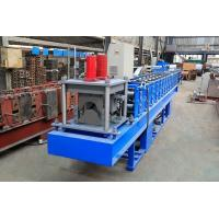 China 0.3-0.8mm Thickness Ridge Cap Roll Forming Machine High Working Efficiency wholesale