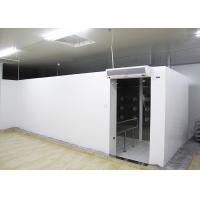 China 90 Degree Turn Personnel Air Shower Tunnel  ,  Clean Room Equipments With Painted Steel Material wholesale