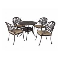 China Vintage Metal Stool Cast Iron Table And Chairs Powder Coated And Painting wholesale
