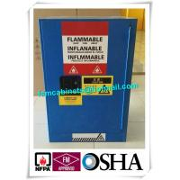 China Yellow Dangerous Industrial Safety Cabinets For Liquid , Paint Safety Storage Cabinets wholesale