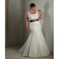 China Mermaid Plus Size Wedding Gown wholesale