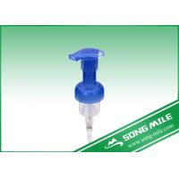 China 40/410,43/410  Blue Plastic Foam Pump Liquid Soap Pump For Care on sale