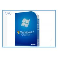 China 32/64 Genuine Win 7 Professional Product Key License In Good Condition wholesale