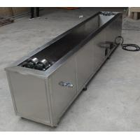 China Tank Rotating System Industrial Ultrasonic Cleaning Machine 1200X300X200 Anilox Cylinder Cleaner wholesale