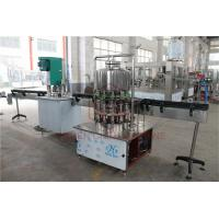 China Semi - Automatic 1L Drinking Liquid Water Bottle Filling Machine / Bottling Packing Line wholesale