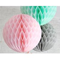 China Honeycomb ball wedding wedding room supplies Europe and the United States paper ball export Round honeycomb wholesale wholesale